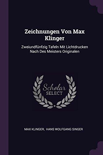 ZEICHNUNGEN VON MAX KLINGER