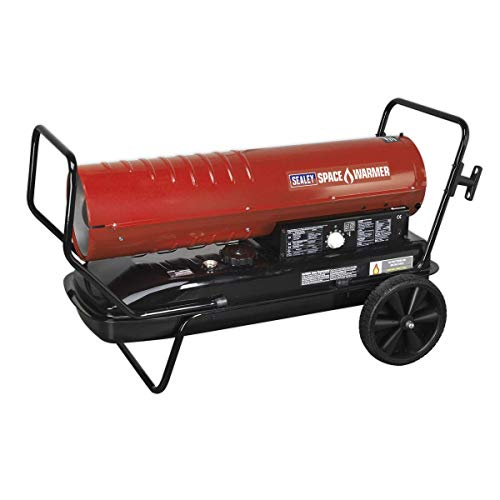Sealey AB2158 Space Warmer Paraffin Kerosene & Diesel Heater with Wheels,...