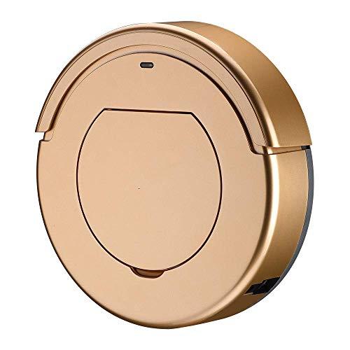 GNLIAN HUAHUA Vacuumas de Mano Limpieza Robot Aspirador Inteligente de Limpieza del hogar Robot Robot Barrer, Oro (Color: Oro)