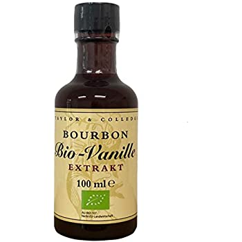 Taylor & Colledge Vanilla Extract, Fairtrade Organic, 100ml