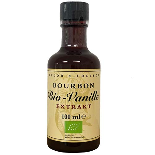 Taylor & Colledge Vanilla Extract, Fairtrade Organic, 100ml