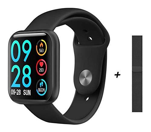 Relógio Inteligente Smartwatch P80 + pulseira Extra (Preto)