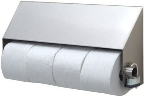 Royce Rolls Stainless Steel Covered Quadruple Four Roll Toilet Paper Holder Dispenser Ctp 4 With Tp Clip Amazon Com