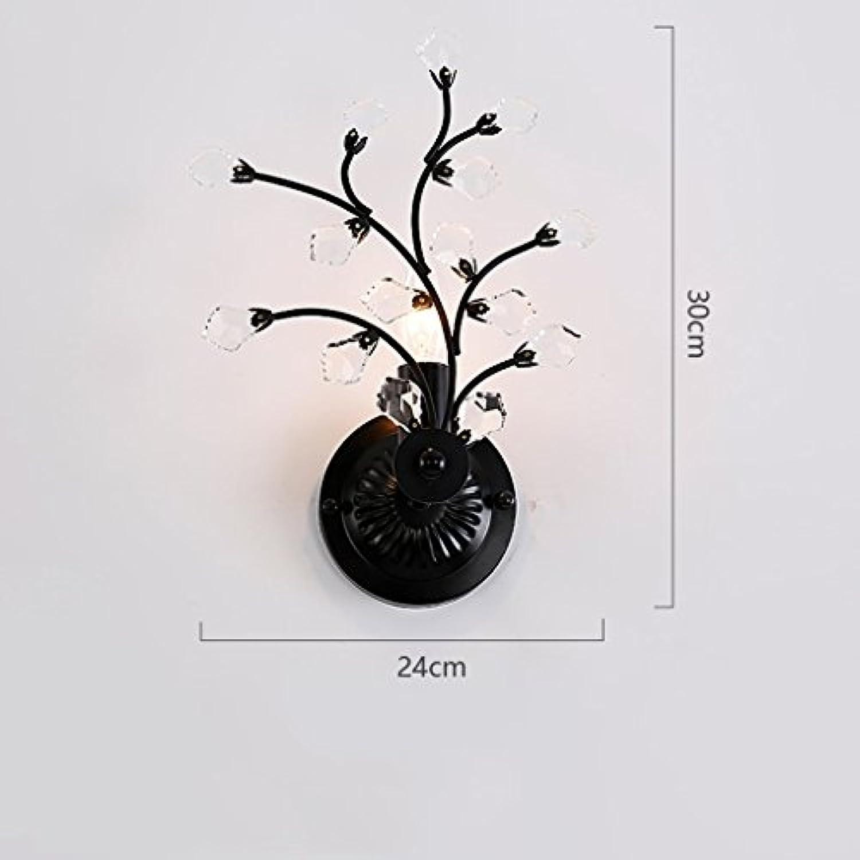 MoMo Wandleuchte Modern Minimalist Plum Crystal Wandleuchte Nachttischlampe Schlafzimmer Kreative Dekorative Hngeleuchten