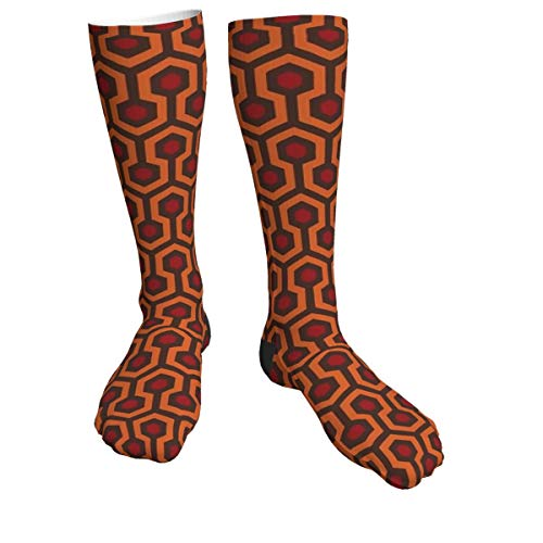 antcreptson Redrum Overlook Hotel Teppich Stephen King The Shining Athletic Tube Strümpfe Damen Herren Classics Kniehohe Socken Sport Lange Socken One Size