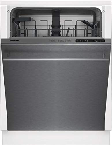 Blomberg DWT51600SS 24 Inch Built In Fully Integrated Dishwasher in Fingerprint Free Stainless Steel