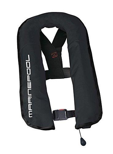 Marinepool Automatische Rettungsweste Compact II 16 L/ 150 N mit separater Schwimmblase Schwimmweste Farbe schwarz