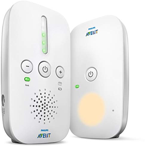 Philips AVENT DECT Baby Monitor, White