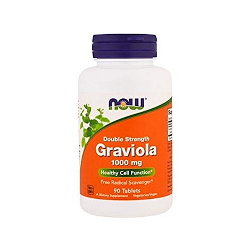 NOW Supplements, Graviola 1,000 mg, Double...