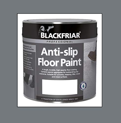 Blackfriar Anti Slip Floor and Step Safety Paint Mid Grey - 1 Litre