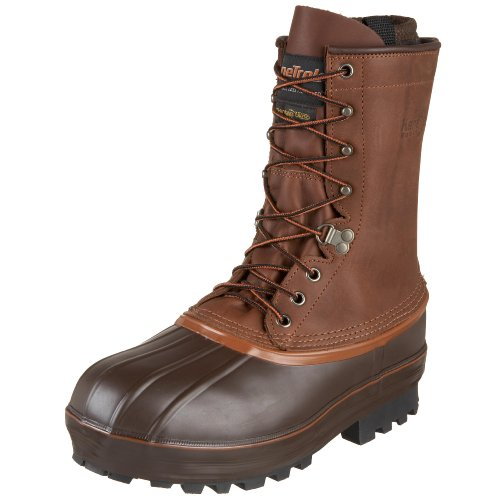 "Kenetrek 10"" Northern Insulated Pac Boot, 13 Medium Brown"