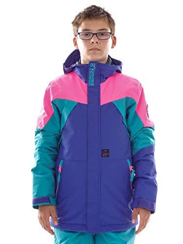O`Neill Skijacke Snowboardjacke X-Treme blau Retro Schneefang recycelt (152)