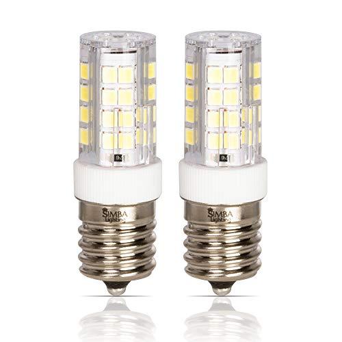 Simba Lighting LED E17 Microwave Appliance Light Bulb (2 Pack) 4W T8...
