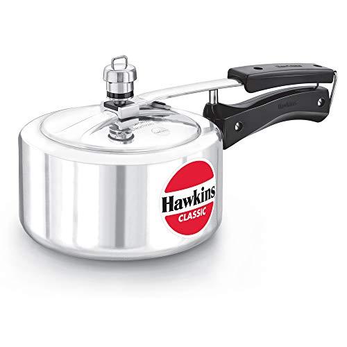 HAWKINSClassic CL20 2-Liter New Improved Aluminum Pressure Cooker, Small, Silver