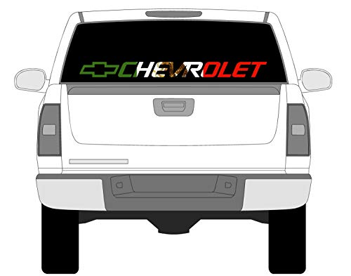 front window truck decal - 6