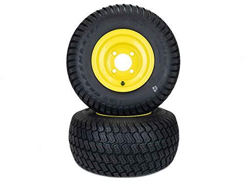 MowerPartsGroup 2 Wheels and Tires Fits John Deere ZTrak 18x8.50-8 Z225 Z335 Z355 W48R W52R W61R
