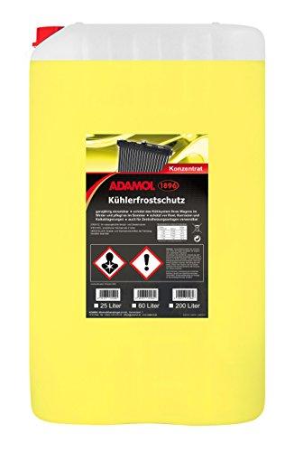 ADAMOL 1896 01260149 Kühlerfrostschutz Konzentrat 25L, Gelb