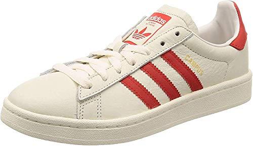 adidas Campus, Sneaker Uomo, Bianco (Chalkwhite/Bold Orange/Cream White), 42 2/3 EU