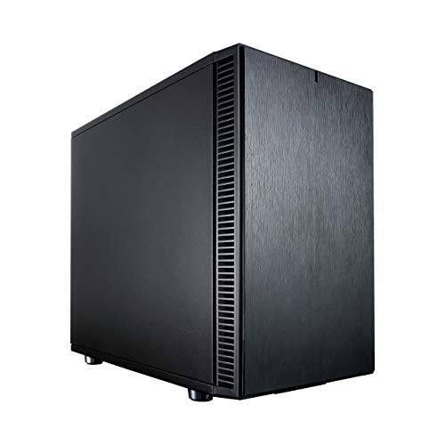 Fractal Design Define Nano S Black, PC Gehäuse (Midi Tower) Case Modding für (High End) Gaming PC, schwarz
