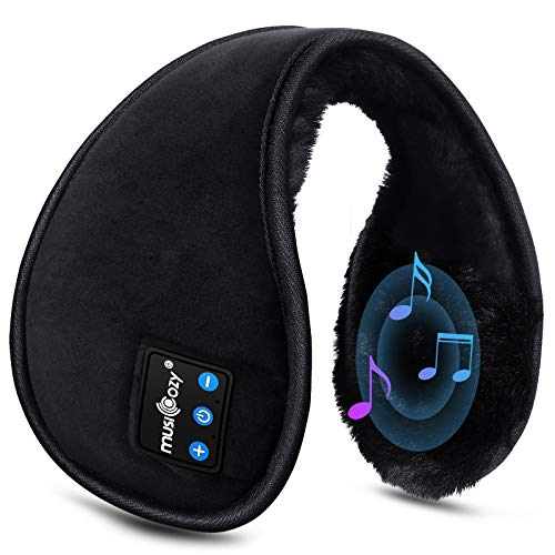 Bluetooth Ear Warmers Ear Muffs LCdolida Earmuffs Builtin HD Speakers for Winter