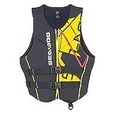 Sea-Doo BRP Men's Neoprene Freedom PFD Life Jacket Vest (XX-Large, Yellow)