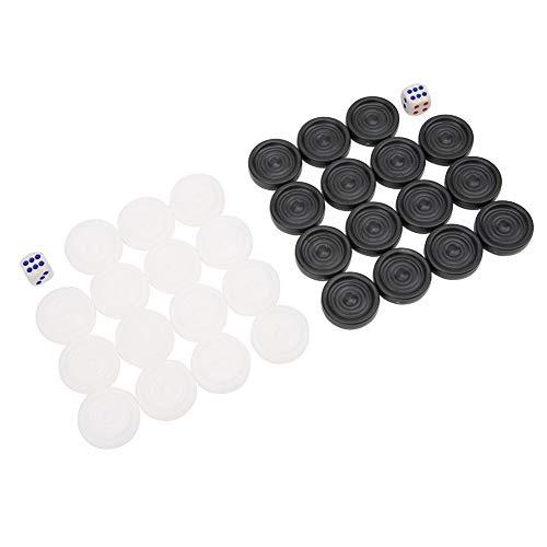 Backgammon de plástico para niños, juguete para niños, da