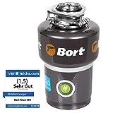 Bort TITAN 5000 Triturador de basura. 1400 ml, 560 W, protección contra la contaminación.