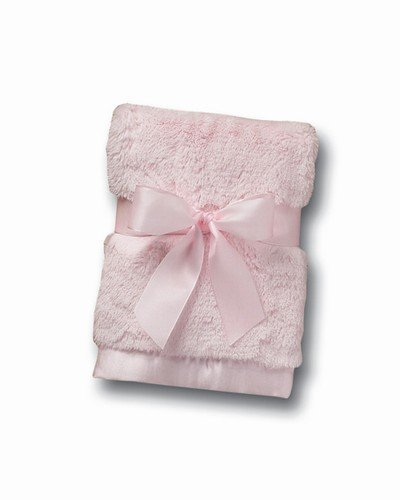 Bearington Baby Bunny Series: Silky Soft Security Blanket (Pink) 16\