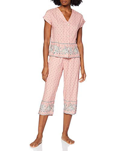 Pijama Camisero Estampado Largo Capri