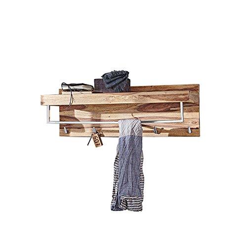 YOGA 6463 Garderobe, Holz, 25 x 90 x 30 cm, natur
