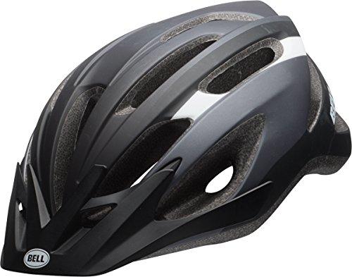 BELL Unisex's Crest Cycling Helmet, Matt Black, Unisize 54-61 cm