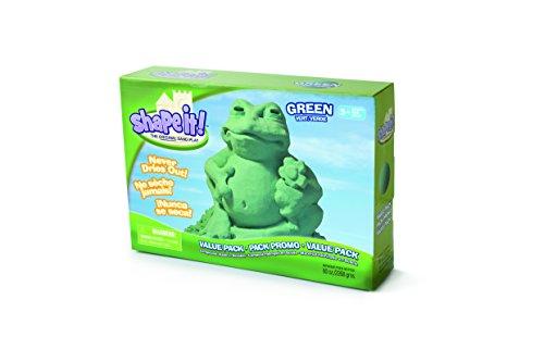 MOON SAND GALAXY GREEN 5 LB BOX