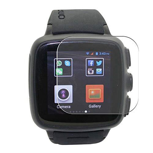 Vaxson 3 Stück Schutzfolie, kompatibel mit Omate TrueSmart Smartwatch 2.0 smartwatch Smart Watch, Bildschirmschutzfolie TPU Folie [ nicht Panzerglas ]