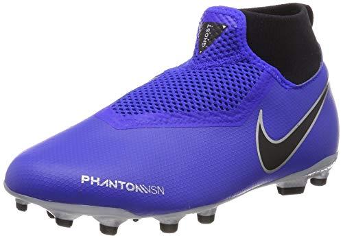 Nike Jr Obra 3 Academy DF MG, Scarpe da Calcio Unisex-Bambini, Blu (Racer Blue/Racer Blue-Black 400), 38.5 EU