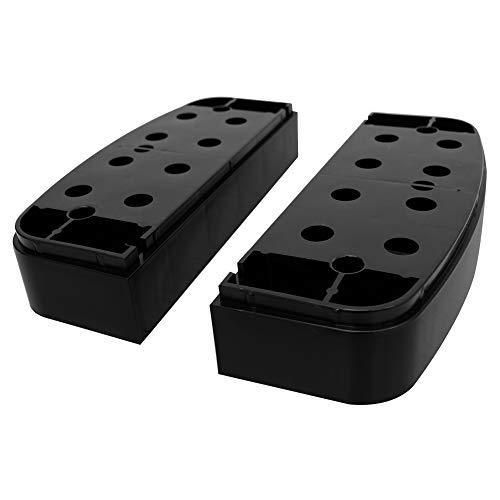 RIORES (リオレス)エアロビクスステップ 追加脚パーツ1段 [幅79cmタイプ用] 踏み台昇降運動 高さ2段階/3段階 10cm/15cm/20cm