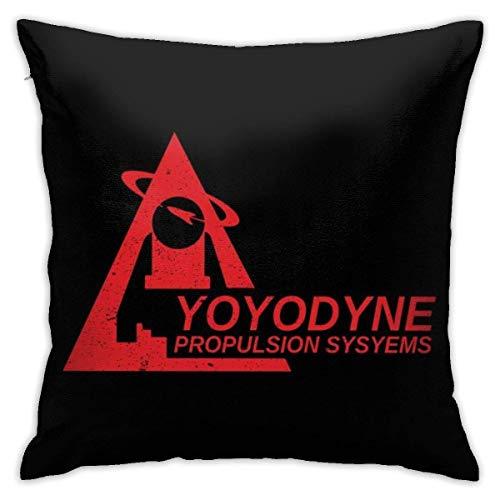 INGXIANGANCHI Yoyodyne Buckaroo Banzai über Kissenbezug der 8. Dimension, doppelseitiger Druck, Kissenbezug mit verstecktem Reißverschluss, Kissenbezug mit wunderschönem Druckmuster 18 Zoll 18 Zoll