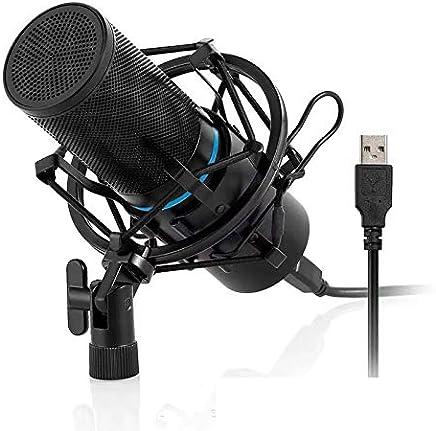 Microfono condensatore, Music Studio Mic Podcast Registrazione Microfono Kit con Stand Shock Mount per PC Laptop Trasmissione Youtube Vlogging Skype Chatting Gaming - Trova i prezzi più bassi