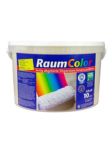 Raumcolor getönt Sahara 10 Liter ca. 60 m² Innenfarbe Wandfarbe Wilckens Farbe Trendfarbe hochdeckend