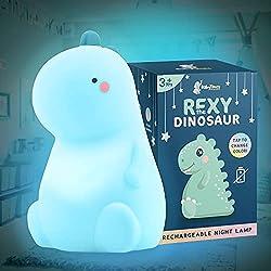 3. Rexy The Original Dinosaur Night Light by BabyTimes