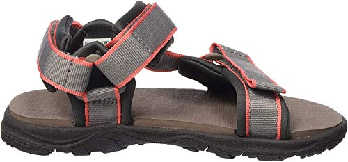 Jack Wolfskin Unisex-Kinder Seven SEAS 3 K Sport Sandalen, Beige (Clay/Rose 5253), 38 EU