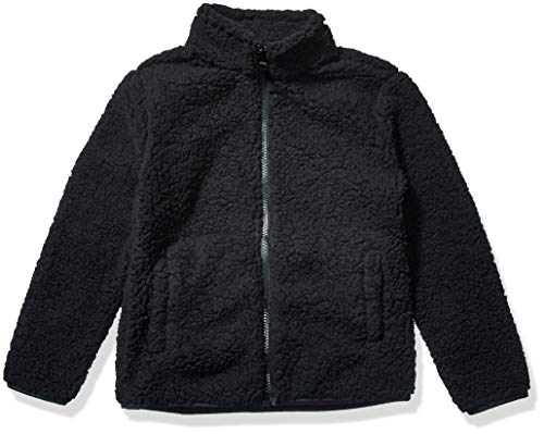 Amazon Essentials Full-Zip High-Pile Polar Fleece Jacket outerwear-jackets, Negro, S