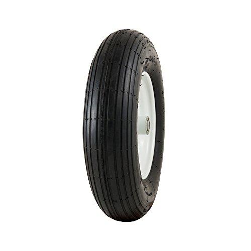 "Marathon 4.80/4.00-8"" Pneumatic (Air-Filled) Tire on Wheel, 3"" Hub, 5/8"" Bearings"