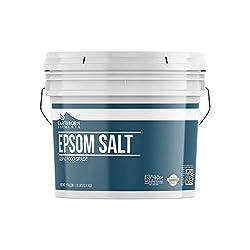 Plastic jug of Epsom Salt for Garden Use