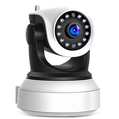 ZJTA Ip Camera Baby Monitor,1080P Hd,Two Way Audio,Night Vision,Wifi Wireless Verbindt met Tablets en Iphone Of Android Phones,Full Motion,Surveillance System