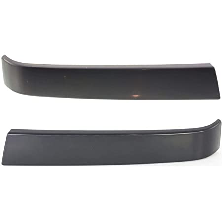 I-Match Auto Parts Passenger Side Bumper to Grille Filler Replacement for 2003-2007 Silverado Pickup GM1213104 12335958 Primed Black