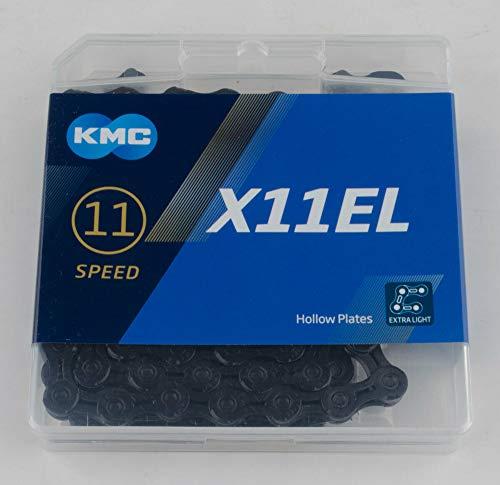 KMC Chain X-11-el Cadena Estrecha, Unisex Adulto