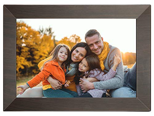 Digital Picture Frame WiFi,MARVUE Digital Photo Frame 10.1 inch IPS Touch Screen HD Display, 16GB Storage Auto-Rotate,Easy to Share Photo/Video via Frameo App, Email, Cloud from Anywhere