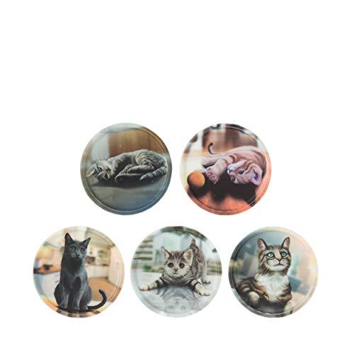ergobag Klettie - Set, 5-Teilig, Klett, Katzen