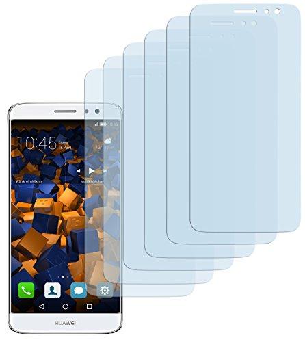 mumbi Schutzfolie kompatibel mit Huawei Nova Plus Folie klar, Bildschirmschutzfolie (6X)