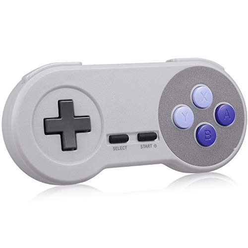 MODESLAB 2.4GHz Wireless Controller for SNES Compatible with Classic...